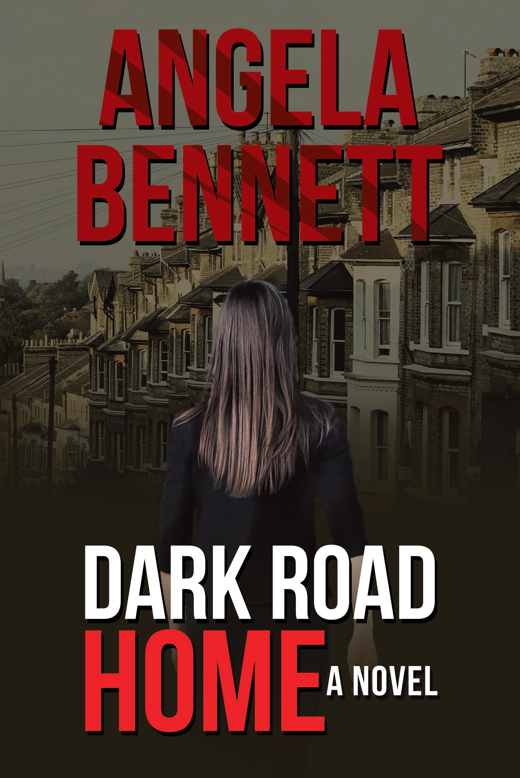 Dark Road Home by Angela Bennett Book Cover
